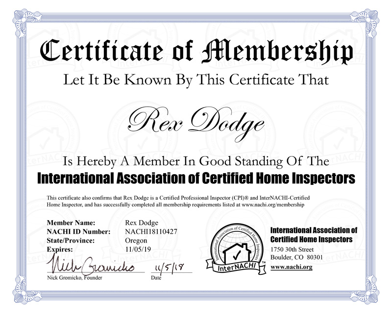 internachi membership